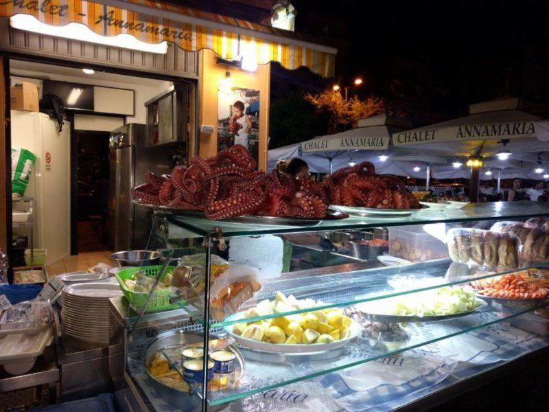 pulpo chalet annamaria castellammare napoli nápoles costa sorrentina marisocs comida italiana